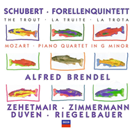 Produktbilde for Mozart/Schubert: Chamber Works (UK-import) (CD)