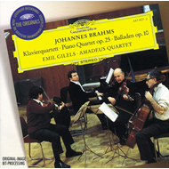 Produktbilde for Brahms: Piano Quartet No 1;Ballades (UK-import) (CD)