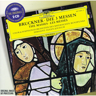 Produktbilde for Bruckner: Masses Nos 1-3 (UK-import) (2CD)