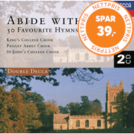 Produktbilde for Abide With Me: 50 Favourite Hymns (UK-import) (CD)