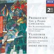Produktbilde for Prokofiev: Piano Concertos (UK-import) (CD)