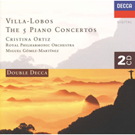 Produktbilde for Villa-Lobos: Piano Concertos (UK-import) (CD)