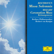 Produktbilde for Beethoven: Missa Solemnis/Mozart: Coronation Mass (UK-import) (CD)