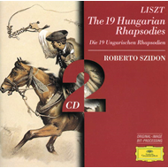 Produktbilde for Liszt: Hungarian Rhapsodies 1-19 (UK-import) (CD)