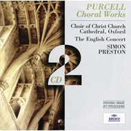 Produktbilde for Purcell: Choral Works (UK-import) (CD)