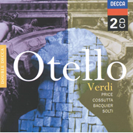 Produktbilde for Verdi: Otello (UK-import) (CD)
