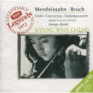Produktbilde for Bruch/Mendelssohn: Violin Concertos (UK-import) (CD)