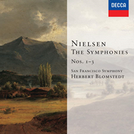 Produktbilde for Nielsen: Symphonies Nos 1-3, etc (UK-import) (CD)