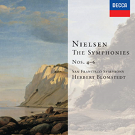 Produktbilde for Nielsen: Syms Nos 4-6. Little Suite. Hymnus amoris. (CD)