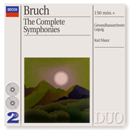 Produktbilde for Bruch: Complete Symphonies, etc (UK-import) (CD)