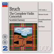 Produktbilde for Bruch: Complete Violin Concertos, etc (UK-import) (CD)