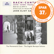 Produktbilde for Bach: Cantatas 6 & 66 (UK-import) (CD)