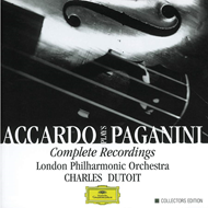 Produktbilde for Accardo plays Paganini (UK-import) (CD)