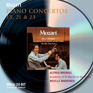 Produktbilde for Mozart: Piano Concertos Nos. 15, 21 & 23 (UK-import) (CD)
