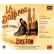 Produktbilde for Bréton: La Dolores (CD)