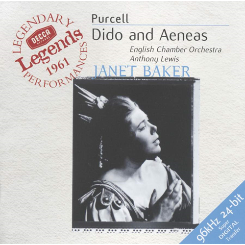 Purcell: Dido and Aeneas (UK-import) (CD)