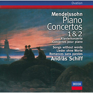 Produktbilde for Mendelssohn: Piano Concertos 1 & 2; Songs Without Words (CD)