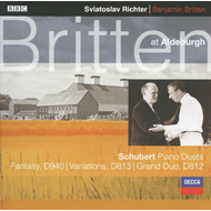 Produktbilde for Schubert: Piano Duets (CD)
