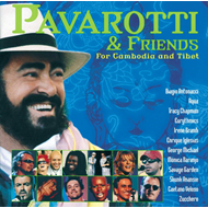Produktbilde for Pavarotti and Friends for Cambodia and Tibet (UK-import) (CD)