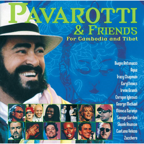 Pavarotti and Friends for Cambodia and Tibet (UK-import) (CD)