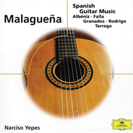 Produktbilde for Malaguena - Spanish Guitar Music (UK-import) (CD)