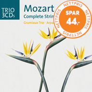 Produktbilde for Mozart: Complete String Quintets (UK-import) (3CD)