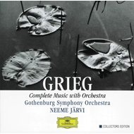 Produktbilde for Grieg: Complete Music with Orchestra (UK-import) (CD)