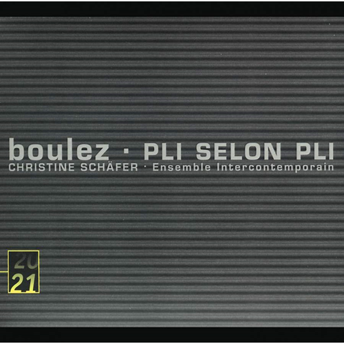 Boulez: Pli Selon Pli (UK-import) (CD)