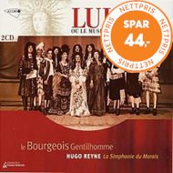 Produktbilde for Lully: Le Bourgeois Gentihomme (USA-import) (CD)