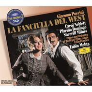 Produktbilde for Puccini: La Fanciulla del West (UK-import) (CD)