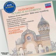 Produktbilde for Mussorgsky: Pictures at an Exhibition (piano & orch versions) (UK-import) (CD)