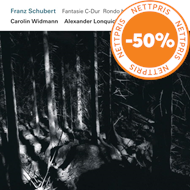 Produktbilde for Schubert: Fantasie / Rondo / Sonate (CD)