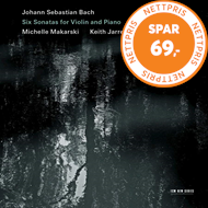 Produktbilde for Bach: Six Sonatas For Violin And Piano (2CD)