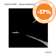 Produktbilde for András Schiff - Bach: Six Partitas (2CD)