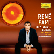 Produktbilde for René Pape - Gods Kings & Demons (USA-import) (CD)