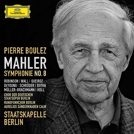 Produktbilde for Mahler: Symphony No 8 (UK-import) (2CD)