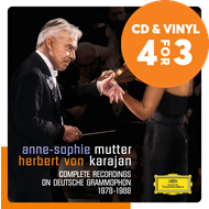 Produktbilde for Mutter & Karajan - Complete Deutsche Grammophon Recordings (5CD)