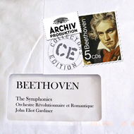 Produktbilde for Beethoven: The 9 Symphonies (UK-import) (5CD)