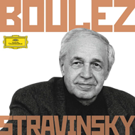 Produktbilde for Boulez Conducts Stravinsky (UK-import) (6CD)