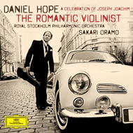 Produktbilde for Daniel Hope - The Romantic Violinist (UK-import) (CD)