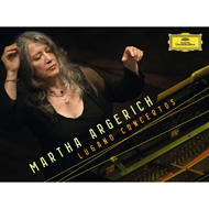 Produktbilde for Martha Argerich - Lugano Concertos - Limited Deluxe Edition (UK-import) (4CD)