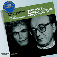 Produktbilde for Beethoven: Piano Concertos Nos 4 & 5 (UK-import) (CD)