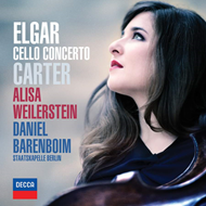 Produktbilde for Alisa Weilerstein - Elgar & Carter: Cello Concertos (UK-import) (CD)