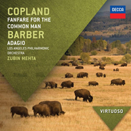 Produktbilde for Copland / Barber: Fanfare For The Common Man / Adagio (UK-import) (CD)