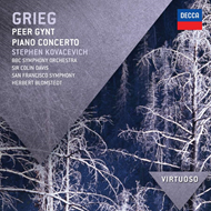 Produktbilde for Grieg: Piano Conerto / Peer Gynt Suite (CD)