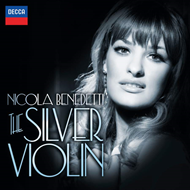Produktbilde for Nicola Benedetti - The Silver Violin (UK-import) (CD)