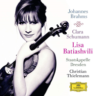 Produktbilde for Lisa Batiashvili - Brahms: Violin Concerto, op.77 / Schumann: 3 Romances for Violin and Piano, op.22 (CD)