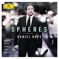 Produktbilde for Daniel Hope - Spheres (CD)