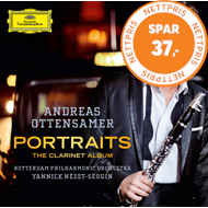 Produktbilde for Andreas Ottensamer - Portraits: The Clarinet Album (UK-import) (CD)