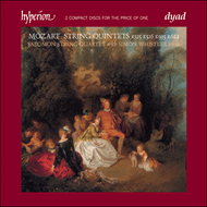 Produktbilde for Mozart: String Quintets (CD)